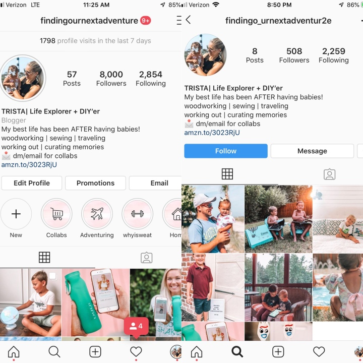 A bot was impersonating me, and how I got my Instagram accountBACK!
